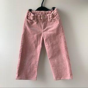 H&M Ankle-length Corduroy Pants size 4-5 T